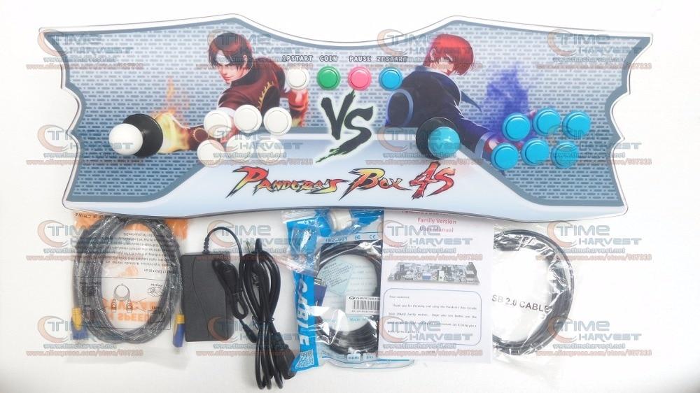 Console d'arcade Pandora Box 5 2 joueurs maison console de jeux de famille 960 en 1 avec bouton de verrouillage de manette 8 voies sortie HDMI VGA