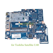 K000151490 ZRMAA LA-A481P Motherboard For toshiba Satellite U40 M40 M45 14 inch Main board / System board i3-4005U CPU DDR3