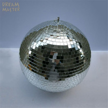 """D40cm*40cm 15.7""""inches large mirror balls for lights/rotating disco ball with free electric motor for DJ lights Wedding Eevent"""