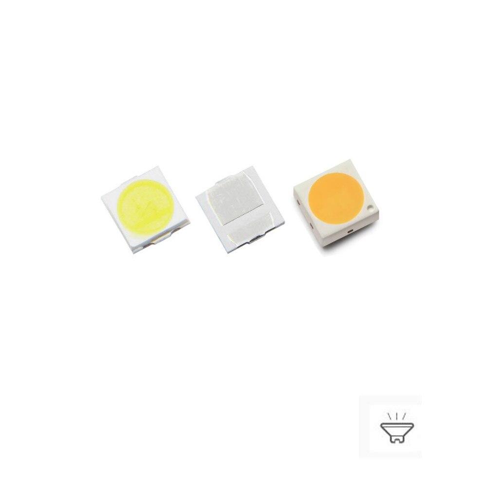 100PCS 9V 100ma 100-120lm 3030 SMD LED Beads For LED Lighting