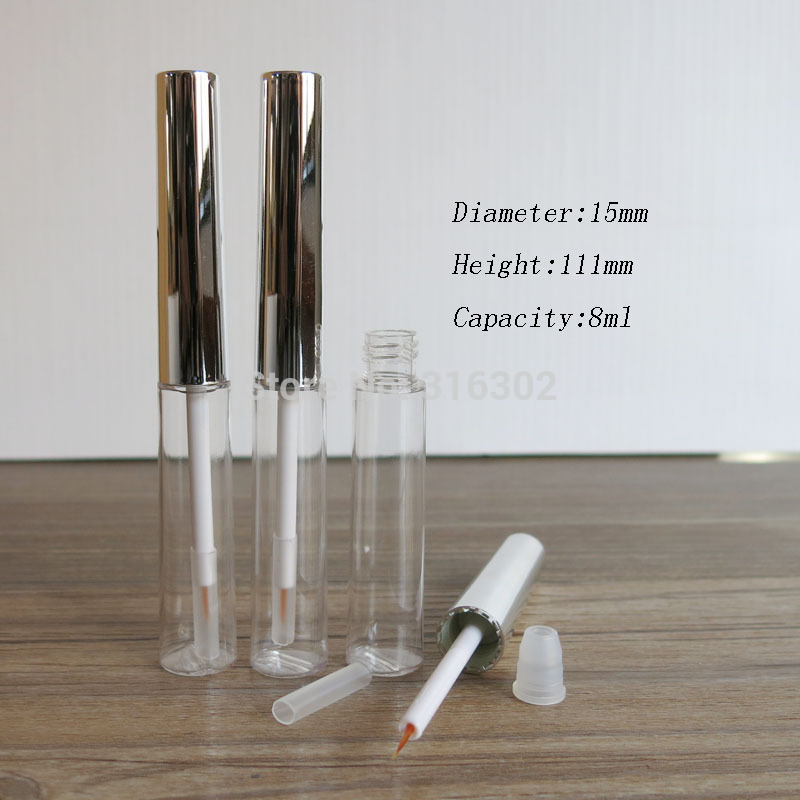 100 x 8ml Refillable Mascara Eyelash Growth Serum Tubes Empty Lash Lift Liquid Eye Liner Beauty