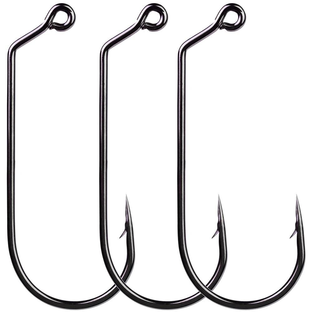 50Stk Jig Big Fishing Hook 32786 1//0 5//0 Size fishhook Saltwater Bass/_Sale L4W7