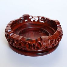 handicraft furnishing articles annatto household act the role ofing is tasted red sandalwood carvings flowerpot vase Buddha