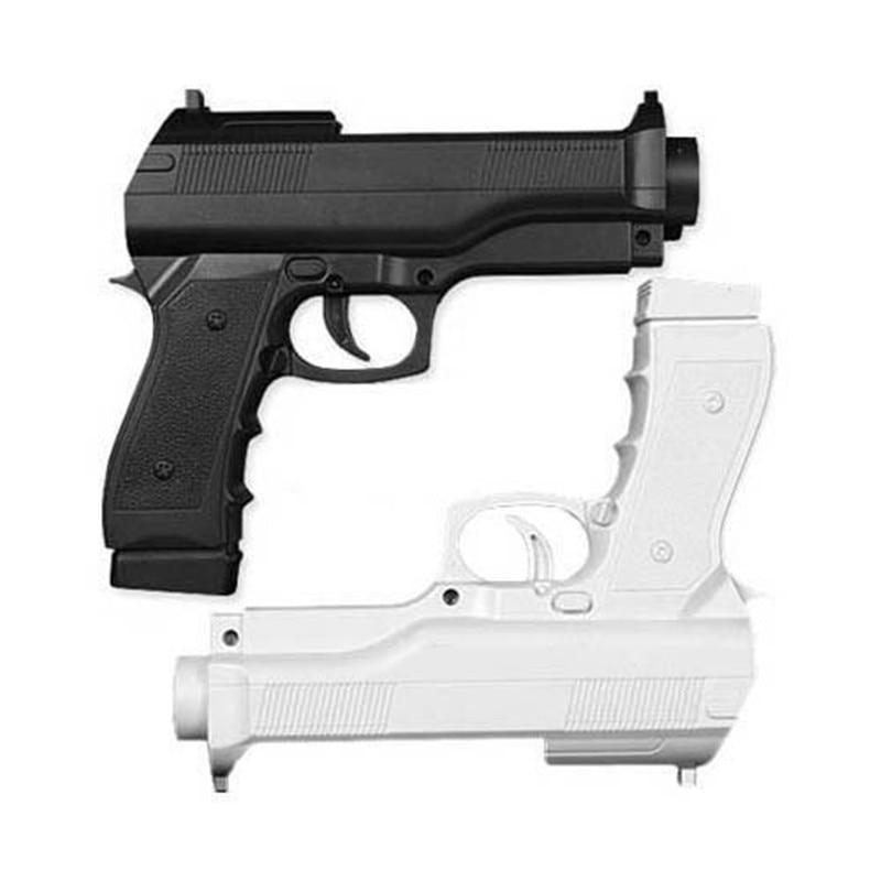 Free Shipping 2 X Light Gun Pistol Shooting Sport Video