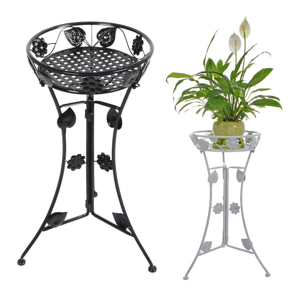 Home Flower Racks Metal Plant Stand Garden Decorative Planter Holder Flower  Pot Shelf Rack For Livingroom