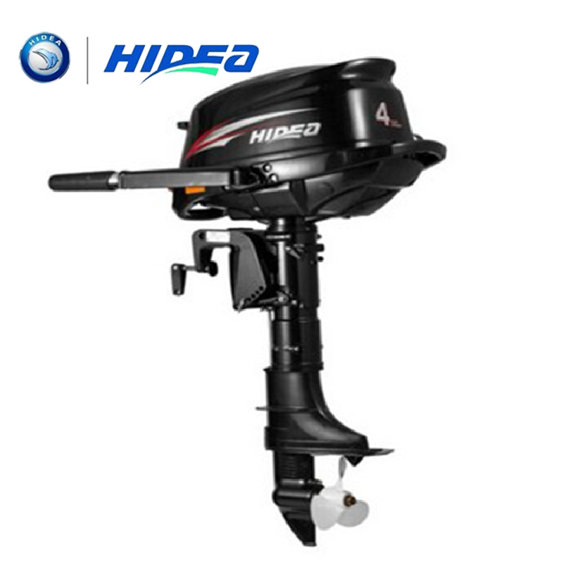 HIDEA Wholesale and Retails Water Cooled 4-stroke 4 <font><b>HP</b></font> marine engine <font><b>outboard</b></font> <font><b>motor</b></font> for boats long shaft image