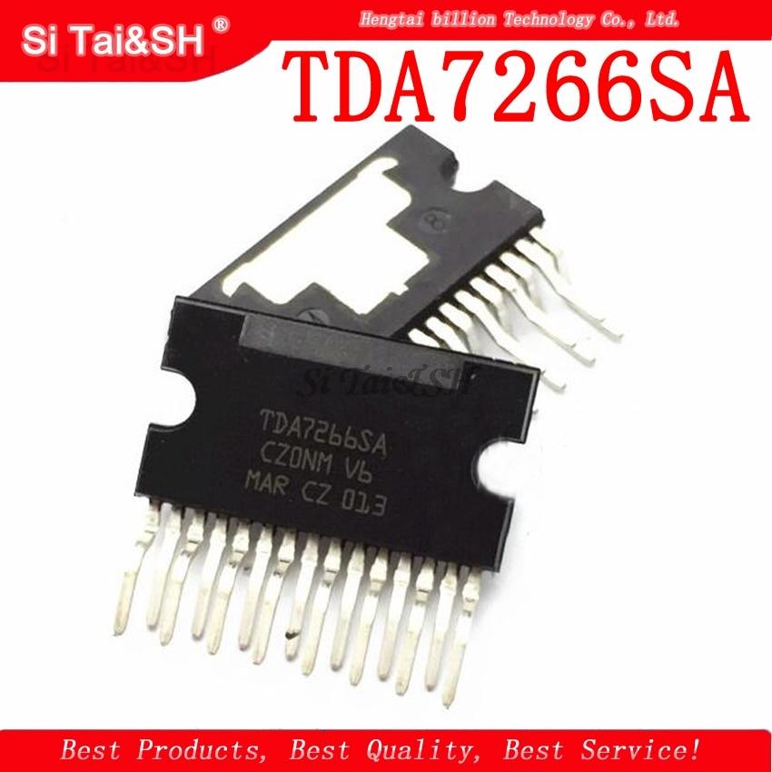 5pcs/lot TDA7266SA TDA7266 ZIP-15  2-channel Stereo/audio Amplifier
