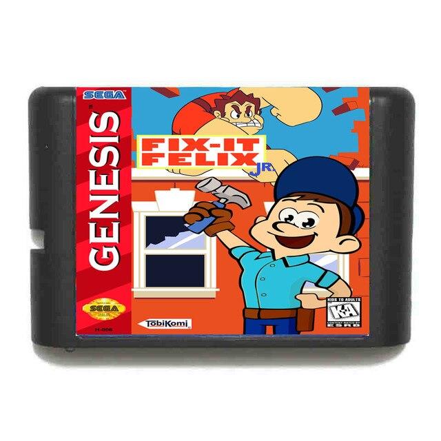 Fix It Felix - Sega Mega Drive For Genesis