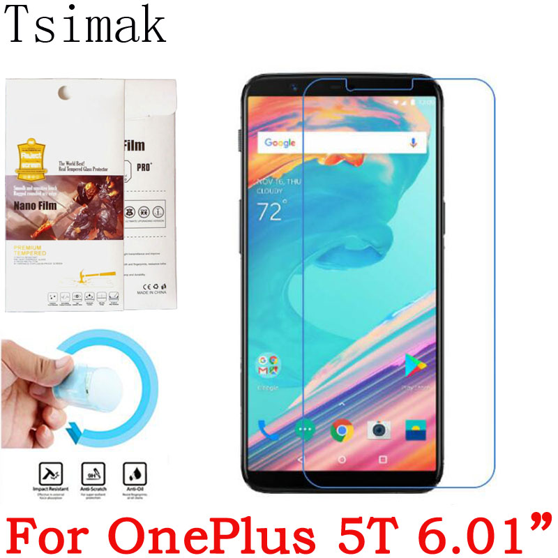 For OnePlus 5 5T Screen Protector Soft Nano Glass Explosion proof For one plus oneplus 5 A5000 One Two X 3T 5 T Protective Film