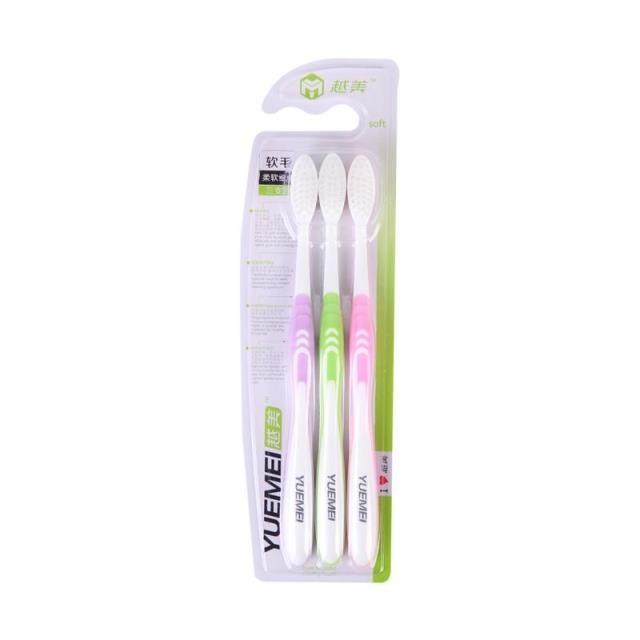 Vacker tandborste mjukborste mjukborste tandborste monterad y002 - Munhygien