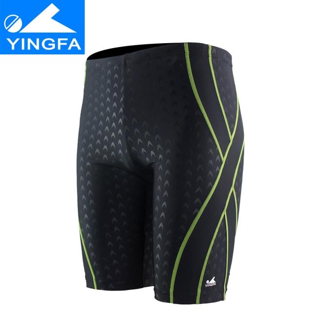 0e108d40fa Yingfa Racing Swimwear Men Swimsuit Briefs Competitive Swimming Trunks For Boys  Bathing Suit Swim Shorts Mens Swimwear