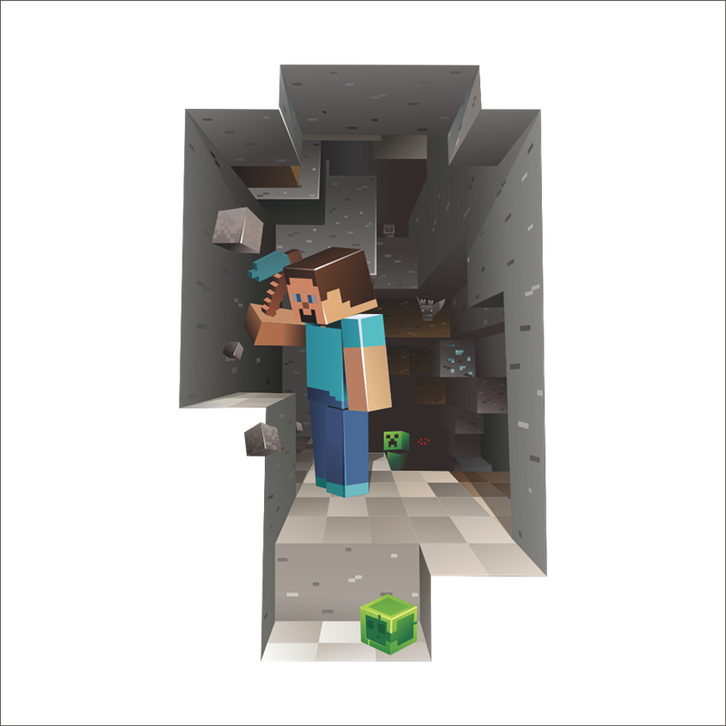 Detail Feedback Questions About Vivid 3d Game Minecraft Wall