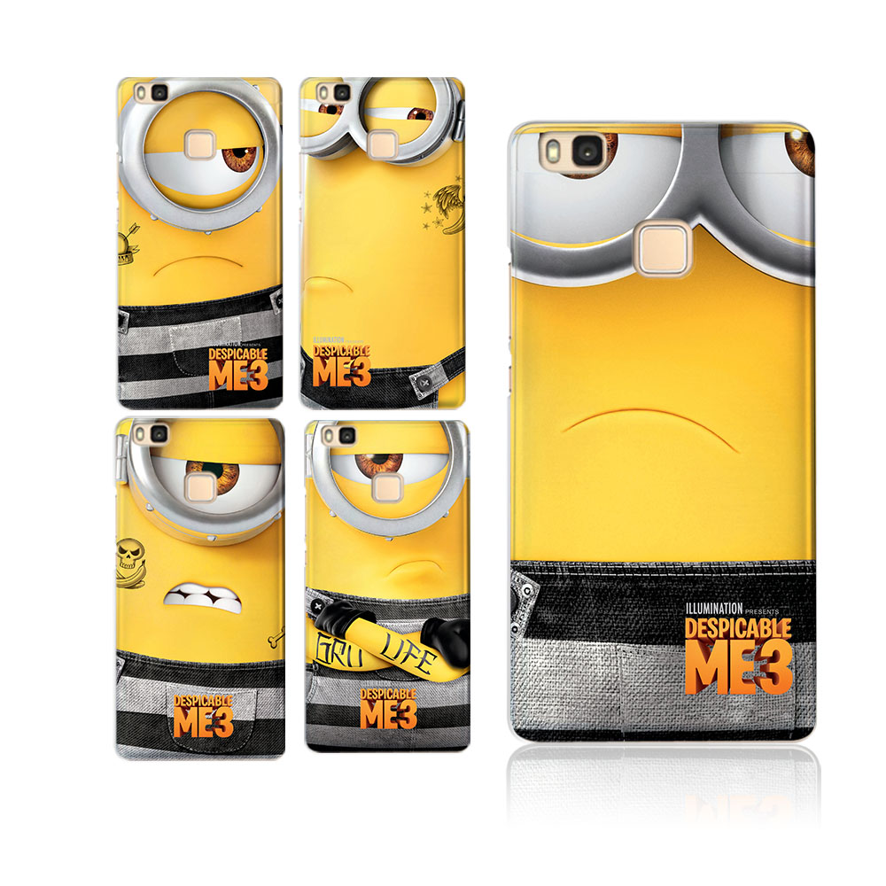 Simple Minions Soft silicon Cases for Huawei P Smart Case P8 Lite P9 lite 2017 P10 lite Honor 6A 6X 8 9 Mate 9 10 Pro lite Cover