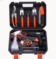 Hardware toolbox garden gardening tools combination set electric heating glue gun set garden gardening tools Garden Tool Parts