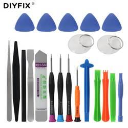 DIYFIX 21 в 1 мобильный телефон ремонт инструменты комплект Spudger Прай Открытие Набор отверток для iPhone X 8 7 6 S 6 Plus ручные инструменты комплект