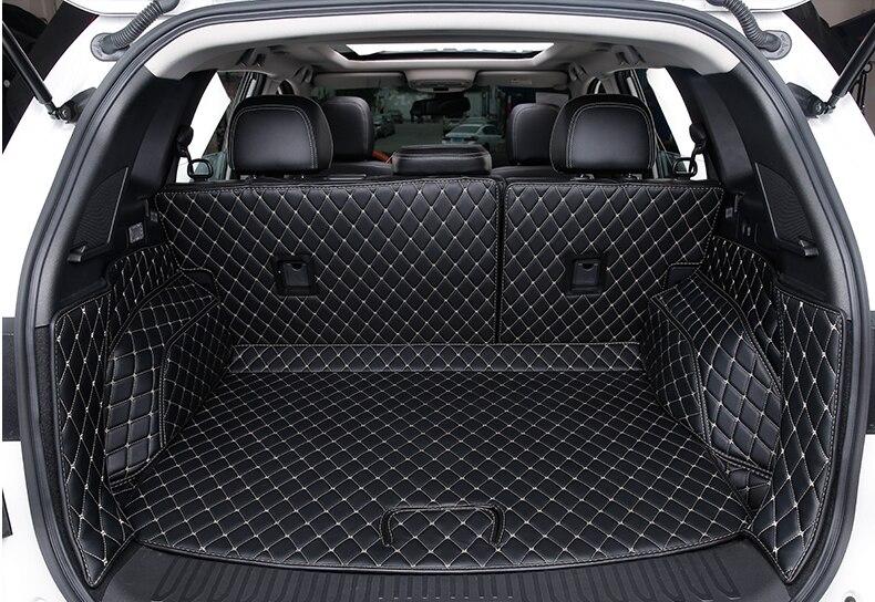 Mejor calidad! Esteras especiales del tronco para El nuevo Renault Koleos 2017 impermeabilizan las alfombras duraderas cargo liner MAT, envío libre
