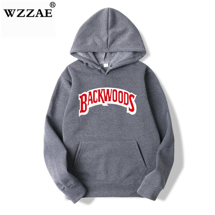 The screw thread cuff Hoodies Streetwear Backwoods Hoodie Sweatshirt Men Fashion autumn winter Hip Hop hoodie pullover Hoody 10