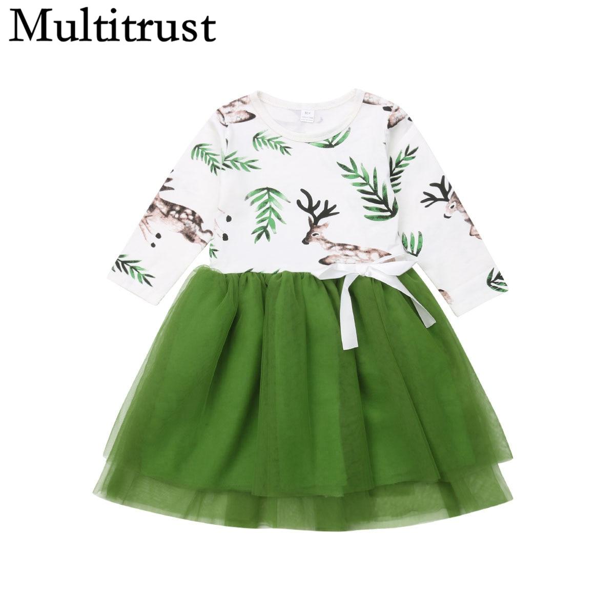 Petitebella Xmas Cute Reindeer L//s Shirt Orange Petal Skirt Nb-8y