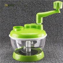 1 STÜCK Gemüse Chopper Multifunktionale Shredder Gebrochen Manuelle Befüllung Fleischwolf Brochen Lebensmittel Kochen Maschine OK 0524