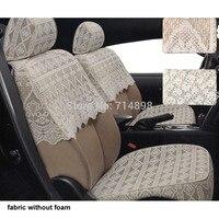 Сиденья авто для JAC yueyue RS binyue (benjoy) Рейн уточнить S5 A13 крест A30 ткань fittment чехлы на сиденья