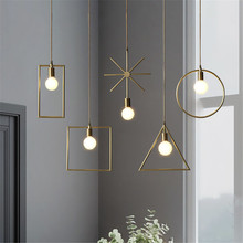 Lamp Glass Bulb Pendant Light Master Bedroom Kitchen Hanging Mosaic Rattan Nordic Design Reading