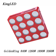 Best LED Grow Light GoldenRing 840W 1260W 1890W 3360W Full Spectrum LED Grow Light for Indoor Plants Veg and Bloom High Yield.