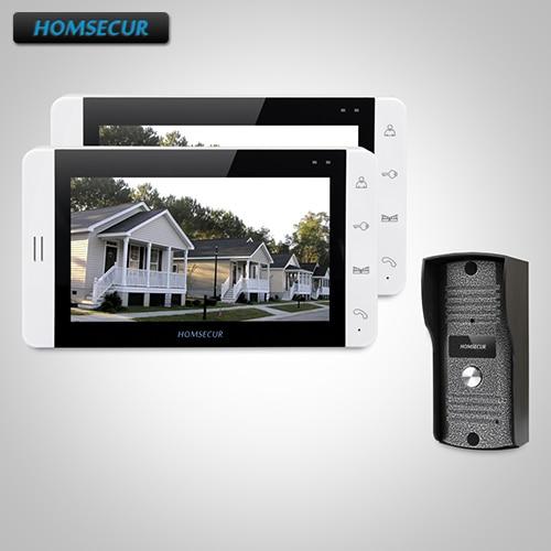HOMSECUR 7 Hands-free Video&Audio Home Intercom+White Monitor for Apartment 1C2M : TC031 Camera + TM703-W Monitor (White)HOMSECUR 7 Hands-free Video&Audio Home Intercom+White Monitor for Apartment 1C2M : TC031 Camera + TM703-W Monitor (White)