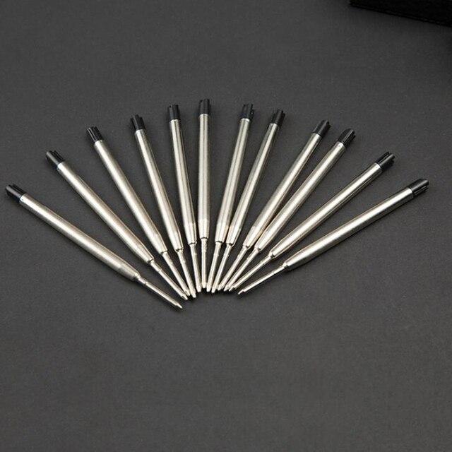10 pz/lotto di Tipo a Croce 0.7mm Pennino Ricariche Penna A Sfera Per Parker Inc