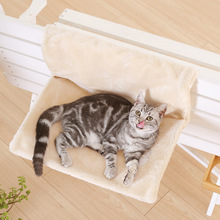 HELLOMOON New fashion spring and autumn Khaki Gray velvet soft skin-friendly cat bed boxed for hammock