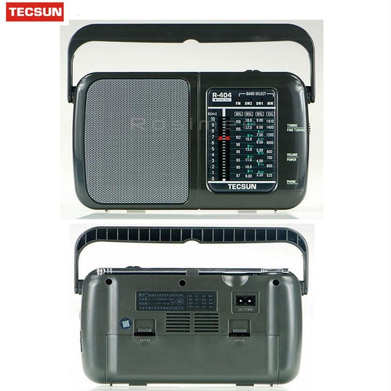 Original Tecsun R-404 Hohe Empfindlichkeit Fm Radio Mw Sw Radio Receiver Fm Wm Sw1 Sw2 Alle Band Mit Eingebauter Lautsprecher Tragbare Radio HüBsch Und Bunt Radio Tragbares Audio & Video