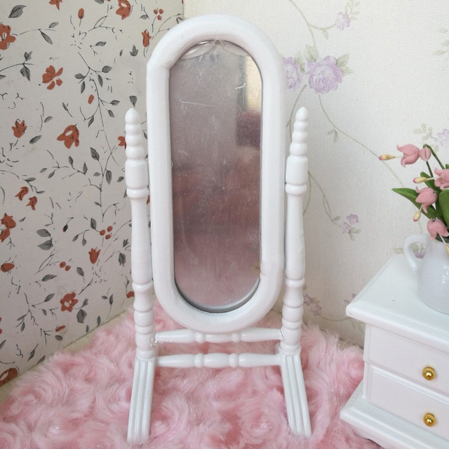 Whyy Dollhouse Bedroom Furniture Set 6 Pcs Bed Rocking Chair