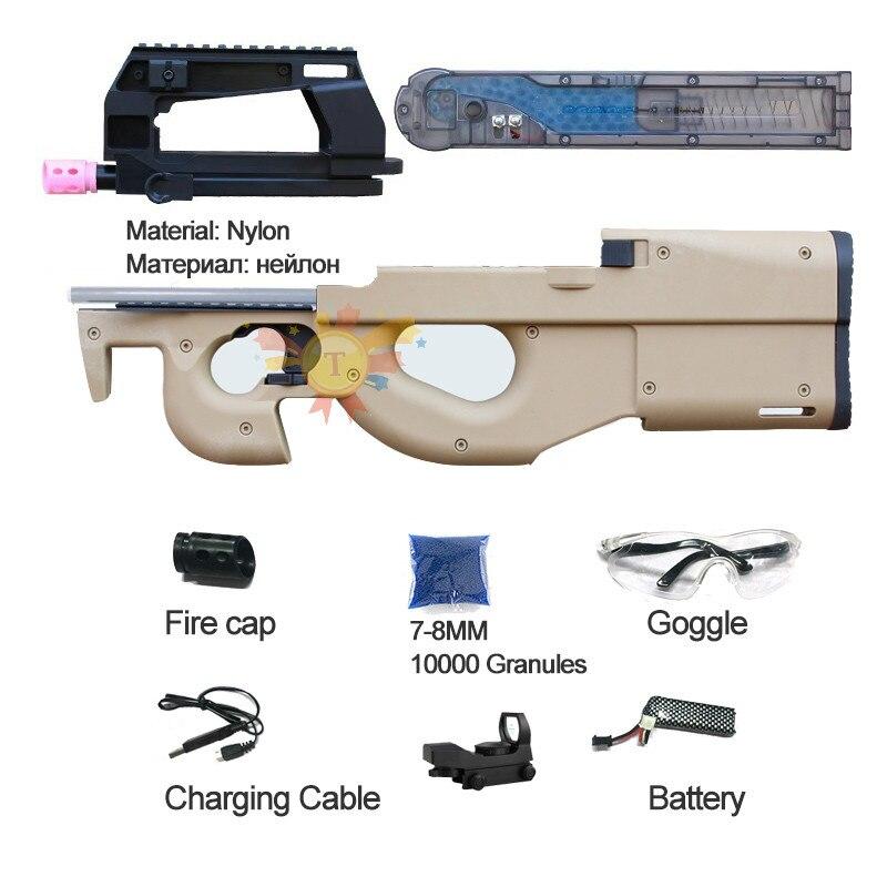 AKM 47 ACR J10 M4A1-J9 JM J9 Gel juegos Nylon réplica V2 caja electrónica de Gel de agua PISTOLA DE con SEMI/Auto función