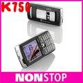 Sony ericsson k750 k750i original abrió el teléfono móvil
