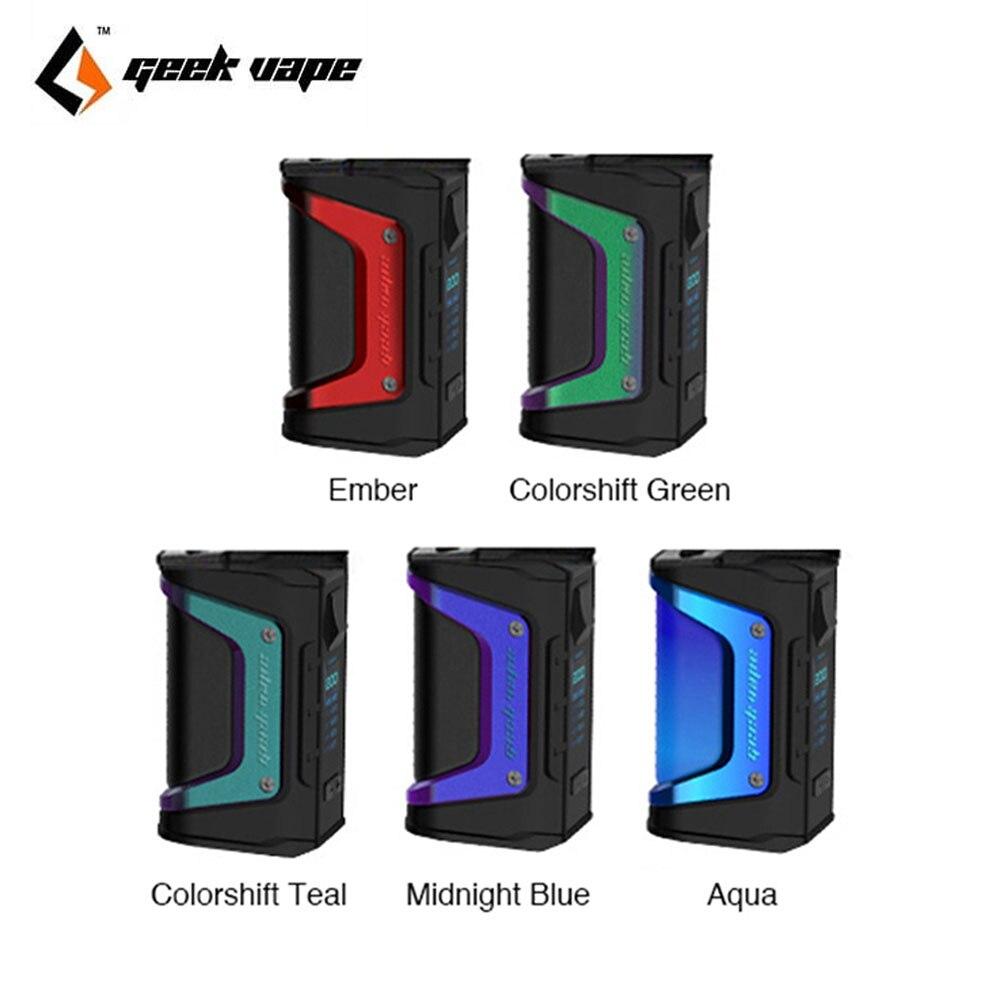 D'origine 200 W Geekvape L'égide Légende TC Boîte MOD avec COMME Chipset et Imperméable À L'eau et anti-Poussière Conception Aucun batterie Vaporisateur Mod Vs Glisser Mod
