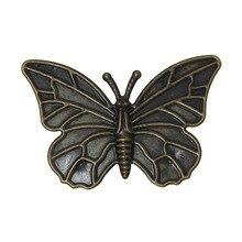 DoreenBeads 30PCs Antique Bronze Filigree Butterfly Embellishments Findings 6x4cm(2-3/8″x1-5/8″) (B18887), yiwu