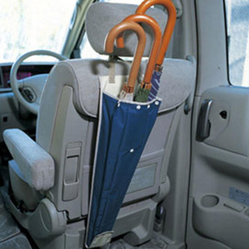 Multifunctional Waterproof Car Umbrella Storage Bag Folding  Hanging Type Holder Automobile  Accessories
