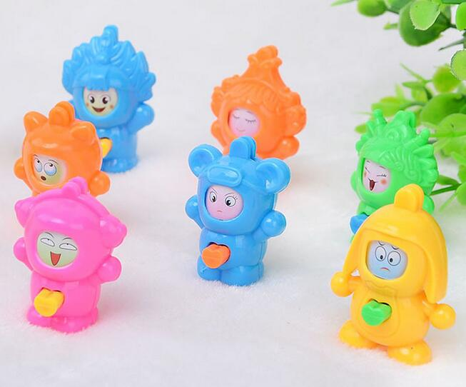 Wholesale 100pcs/lot  Mask-Changing Plastic Cute Mini Animal Puppet Decoration Creative Model Made A Face Action & Toy free shipping 4 pieces lot cute mini high imitation cats model set pusheen neko atsume car decoration hand made toy craft gift