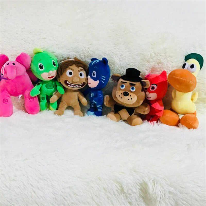 1 set/lote 20 cm Pocoyo boneca elefante de pelúcia cão pato Ffreddy elle O Bom pingente de Dinossauro brinquedos artigos de decoração de Natal