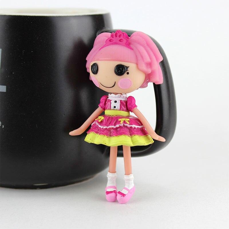 3 дюйма Оригинал MGA Lalaloopsy Мини-куклы, куклы для девочки игрушка Playhouse каждой уникальной ...