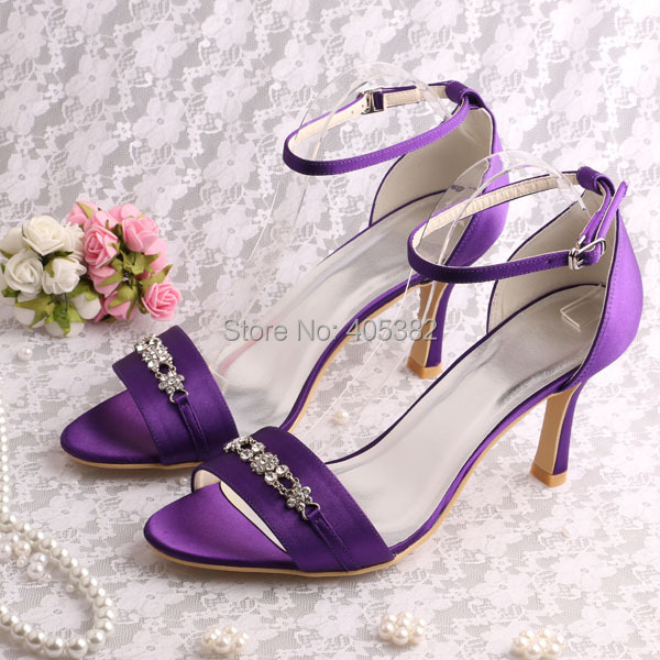 (20 Colors)Wholesale And Retail Wedding Satin Shoes Bridal