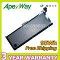 """Apexway A1309 A1297 95Wh Batería Del Ordenador Portátil Para apple MacBook Pro 17 """"MC665ZP/A MC226CH/MC725J/un MC226 */A + destornilladores"""
