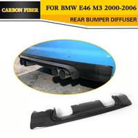 Carbon Fiber Racing Rear Diffuser Lip For BMW E46 M3 3 Series 2001 2005