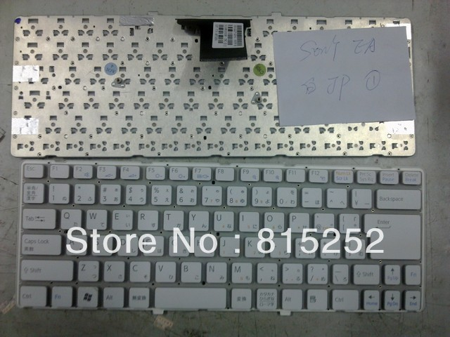 ФОТО Laptop Keyboard for For SONY VPC-EA White (Without Frame) JP-japanise V081678F 148792411