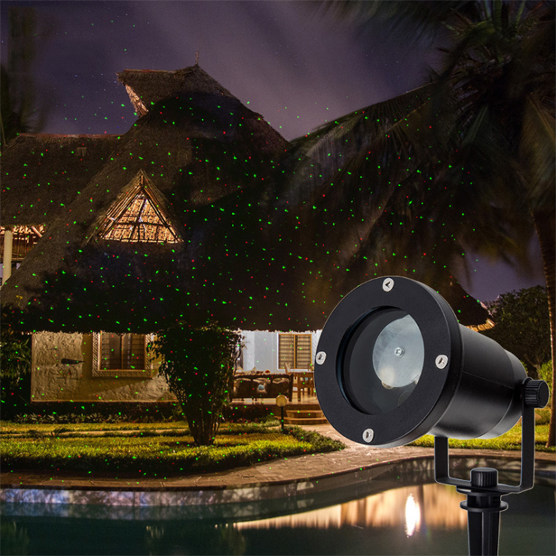 Outdoor Sky Star Laser Projector Lamp Garden Lawn Stage Effect Light Waterproof Landscape Park Garden Christmas Decorative Lamp high quality single color all over the sky star waterproof outdoor laser lawn lamp christmas landscape light quality guarantee