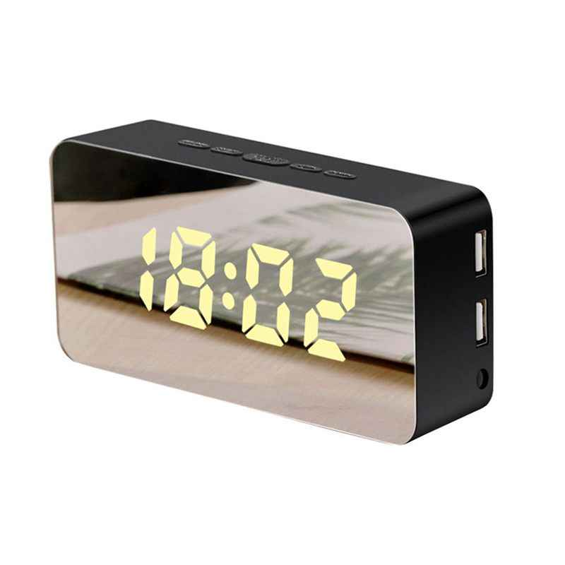 1 шт. Новые Креативные Часы для зарядки мобильного телефона электронные Повтор Будильник часы со светодиодным дисплеем часы