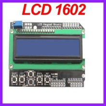 20pcs/lot 1602 LCD Screen Module For Arduino MEGA 2560 1280 UNO R3 Free Shipping