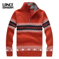 2016 Winter Thick Sweater Men Fashion Brand 4 COLORS Pullovers Plus Size S 2XL
