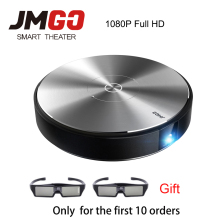 JMGO N7L 1920*1080P Full HD DLP Projector 700 ANSI Lumens Smart Beamer Android WIFI HDMI USB Support 4K Video LED TV JMGO G7
