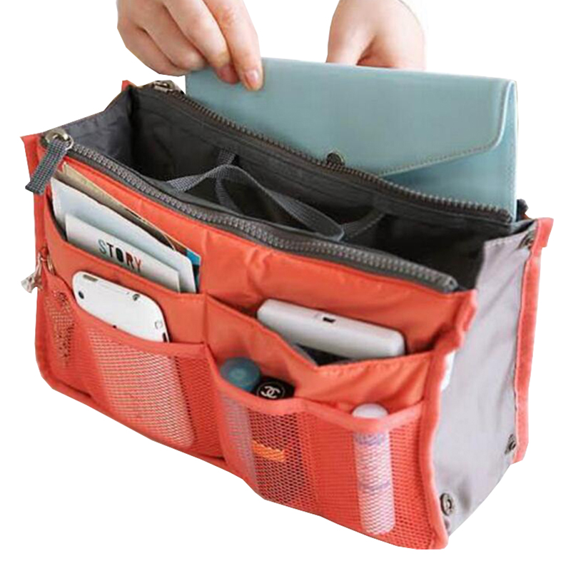 Portable Travel Bags Make Up Organizer Bag for Women Men Casual Multifunctional Cosmetic Makeup Bathroom Travel Storage Handbag