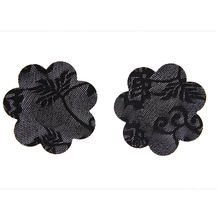 2 pairs Lace Heart Flower Shape Boobs Stickers